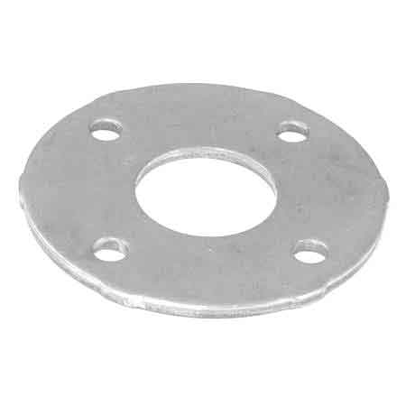 "Aluminum Snap-On Cover Flange Base for 1-1/4"" and 1-1/2"" Sch. 40 Pipe"