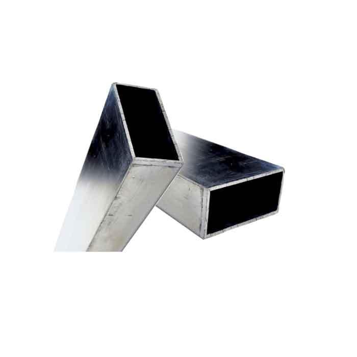 "2"" x 4"" Rectangular Tube, Aluminum, 24FT"