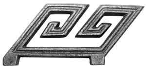 Angled Greek Key in Aluminum