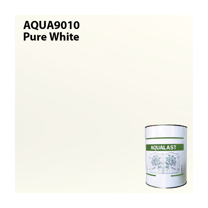 Aqualast Pure White Metal Paint