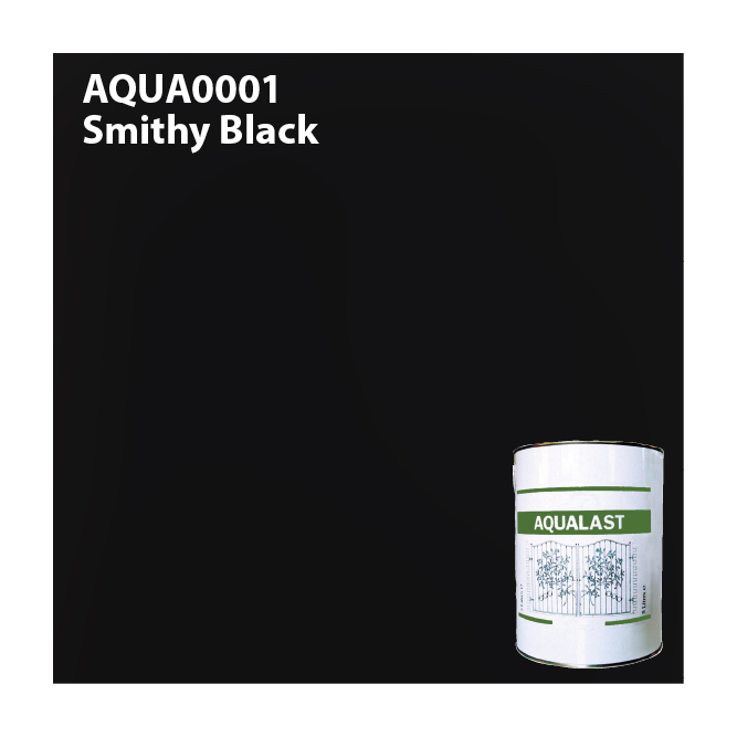 Aqualast Black Metal Paint
