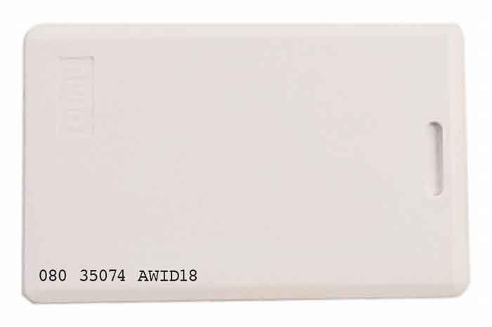 AWID Prox Cards, Randomly pre-coded