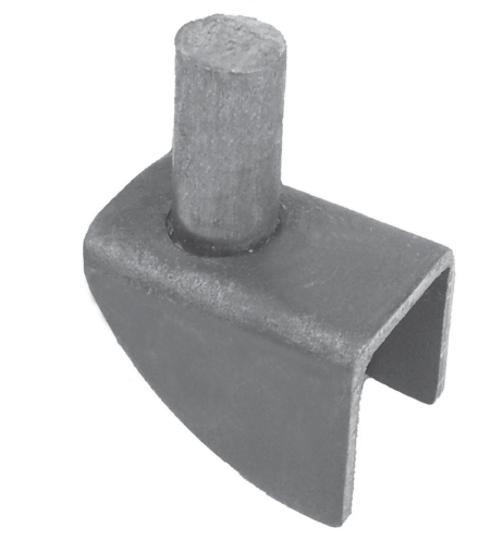 Bat Wing Hinge, Steel, 2-1/16 Tall, use with item 9212