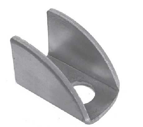Bat Wing Hinge, Steel, 1-1/16 Tall, use with item 9211