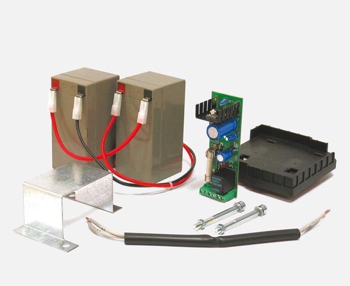Battery Backup for ARES 1500 Slide Gate Operator