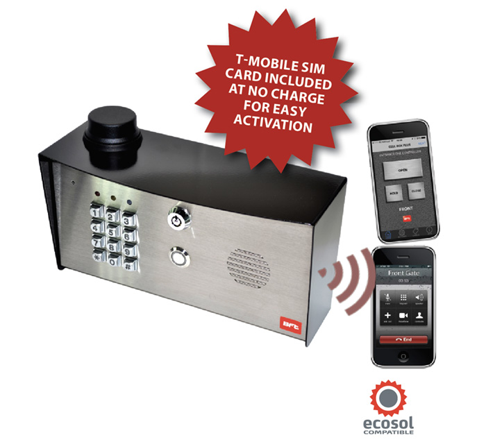 DISCONTINUED - BFT Cell Box w/ Key Pad