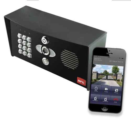 WIFI Video Intercom Access Control System with Keypad