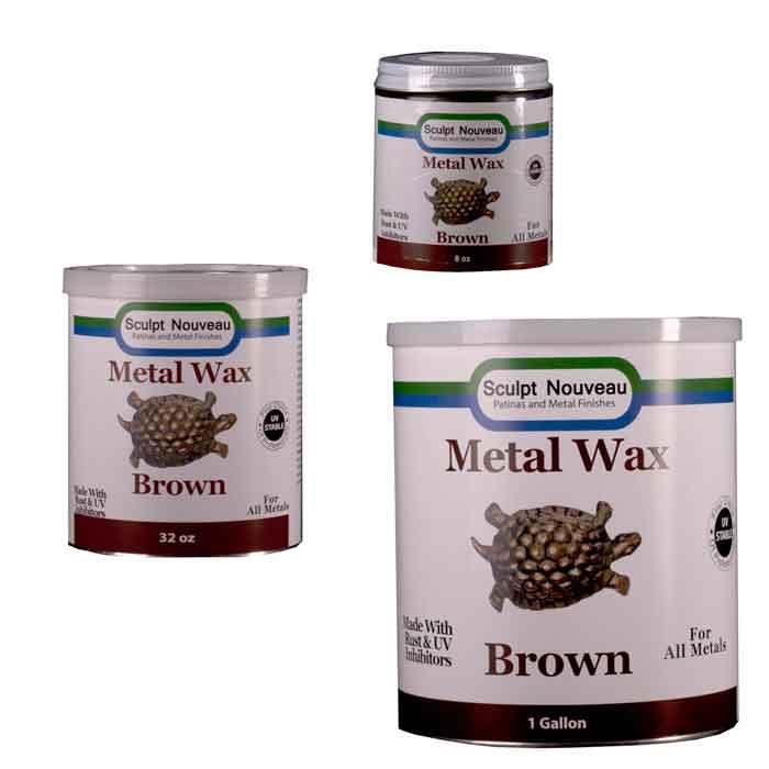 Sculpt Nouveau Metal Wax-Brown