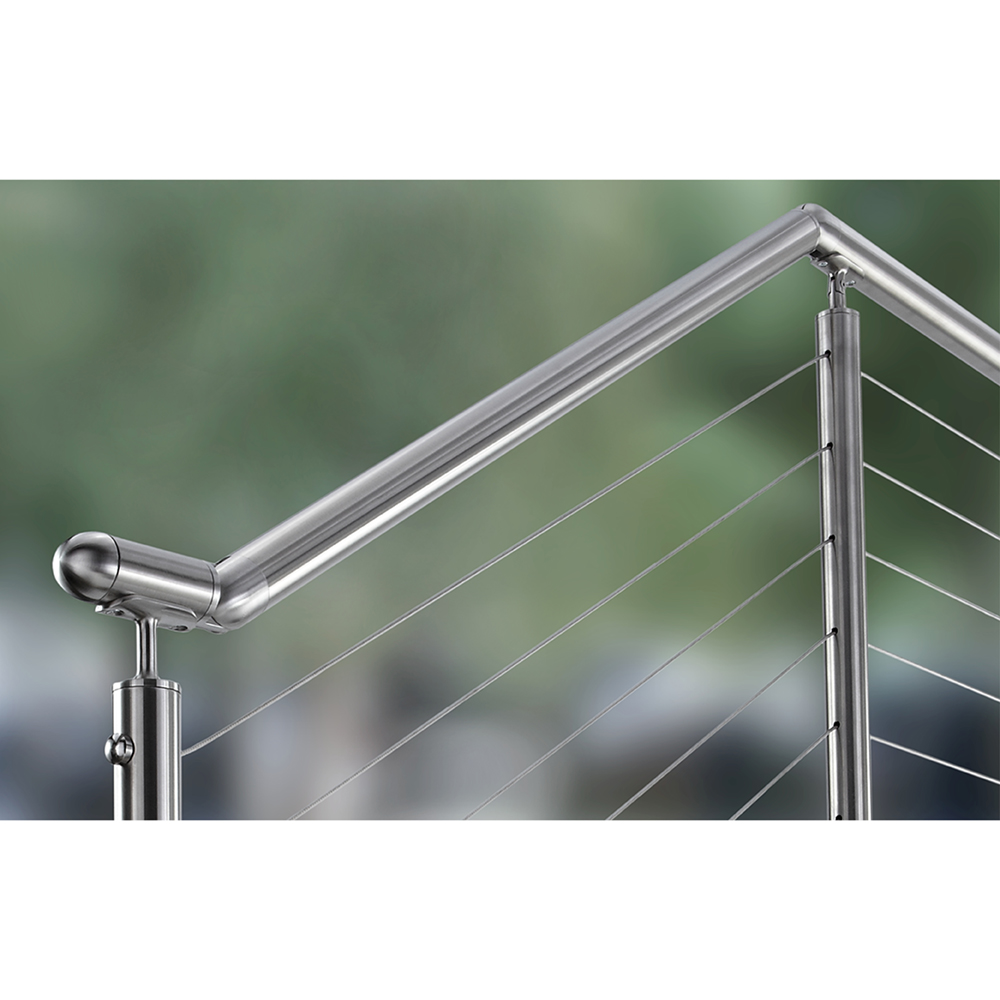 Modern Railing System using CableRail Infill