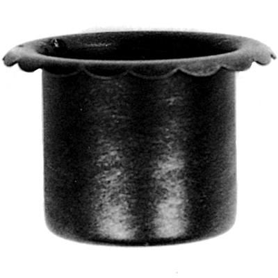 Steel Candle Holder, Top Hat Design