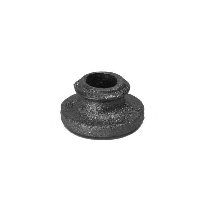 """Base Shoe for 3/4"""" dia., Cast Iron, 1"""" Tall"""
