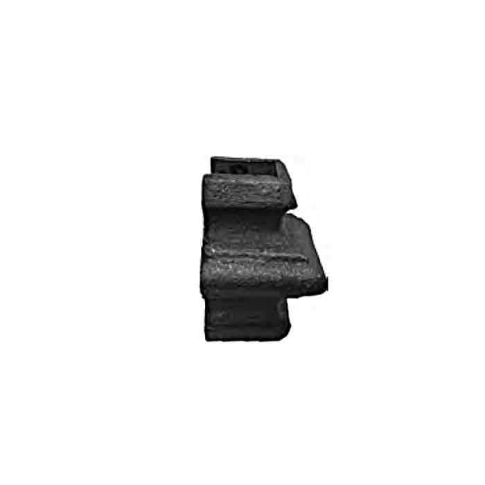 """Cast Iron Half Knuckles for 1/2"""", 5/8"""", 3/4"""" and 1"""" Square Bar"""