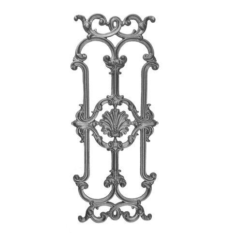 """28-3/4"""" Tall Continuous, Cast Iron Panel, Side Backed Out (SBO)"""