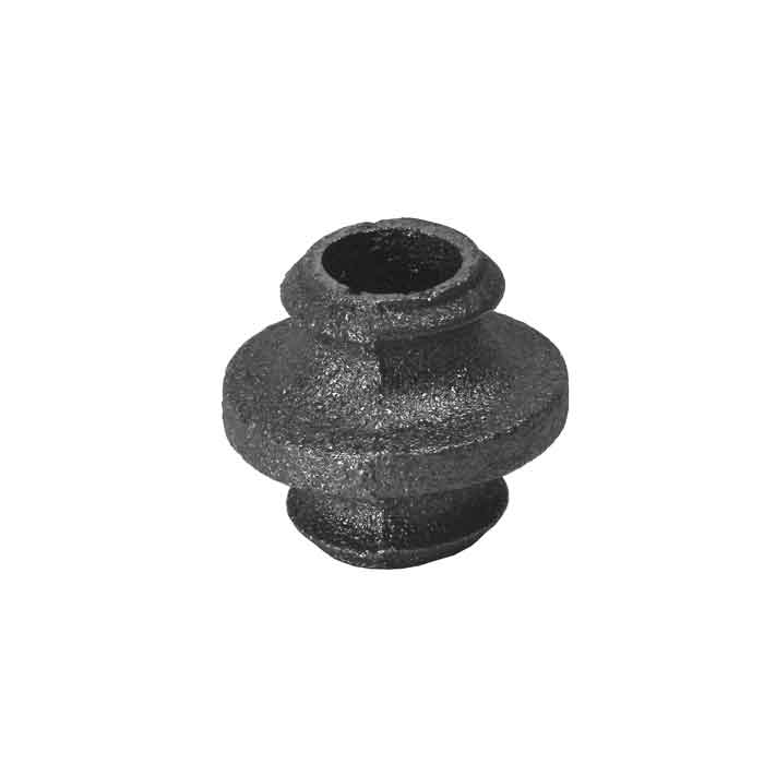 """Cast Iron Picket Collars for 1/2"""", 5/8"""", 3/4"""" and 1"""" Round Bar"""