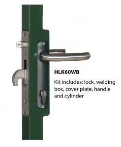 Mortise Gate Lock Kit with Welding Box