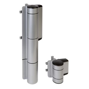 Mammoth Hydraulic 180 degree Gate Closer and Hinge in One, Silver