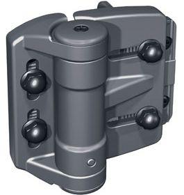"""TruClose Regular - Mini Multi - 7/8""""- 2"""" (22-50mm) Gate gap : Black"""
