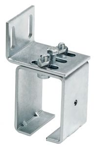 Wall Support for 24-MEDIO, Side Mount, Galvanized