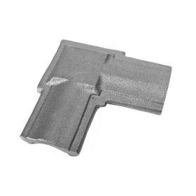 Angle Bend, Cast Iron, use with Tubular Handrail THR