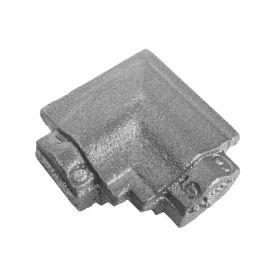 Square Corner Bend, Cast Iron, use with Tubular Handrail THR