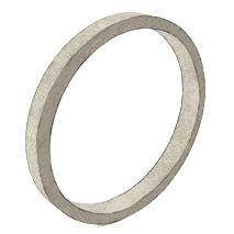 "1/2"" x 1/4"" x 4"" Forged Aluminum Circle"