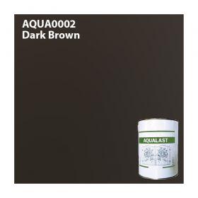 Aqualast Dark Brown Metal Paint