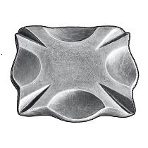 """3-3/8"""" sq. Steel Base Plate, 5/16"""" Thick"""