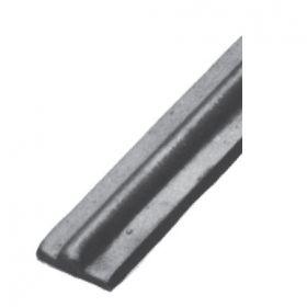 """9/16"""" Wide Steel Collar Strip with Center Ridge"""