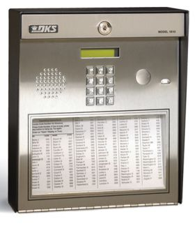 DoorKing 1810-Surface Mount Telephone Entry System