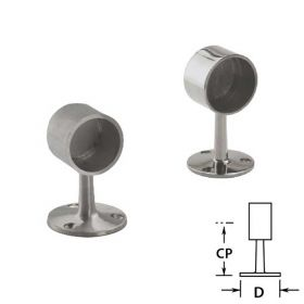 Flush End Posts in Stainless Steel