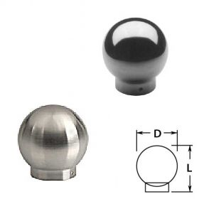 Ball Single Outlets in Stainless Steel