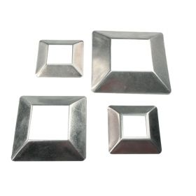 Aluminum Cover Plates for Square Bar