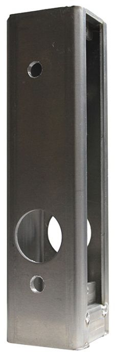 Aluminum Gate Box for use with item 2985 Adams Rite Stile Latch Door Lock