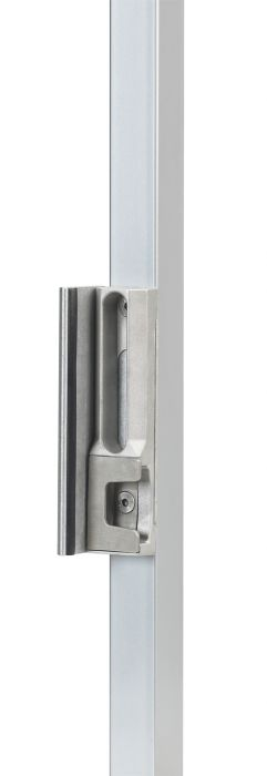 Security Keep for Square Posts, Black