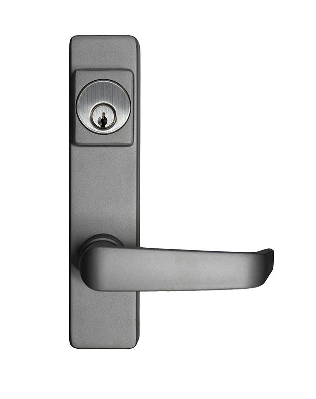 Detex Panic Bar Trim with Janitor Lever