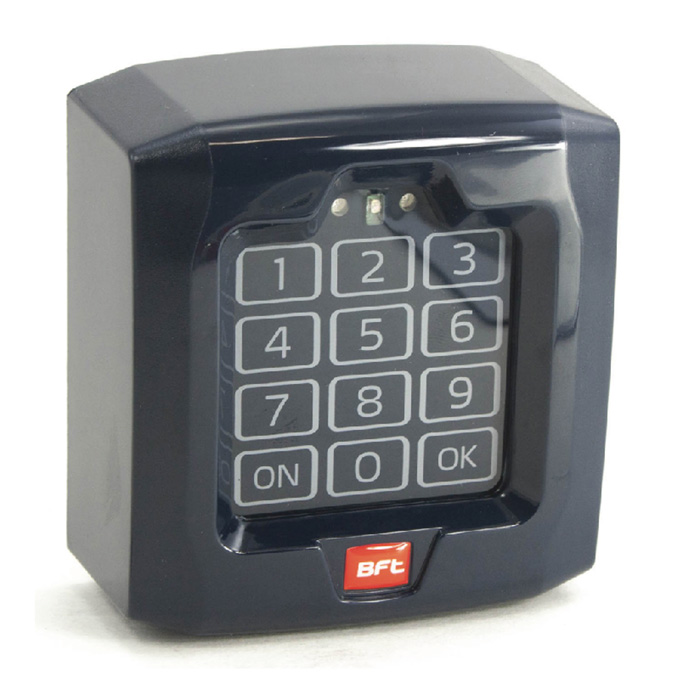 Digital Keypad from BFT item P121024-Q-Box