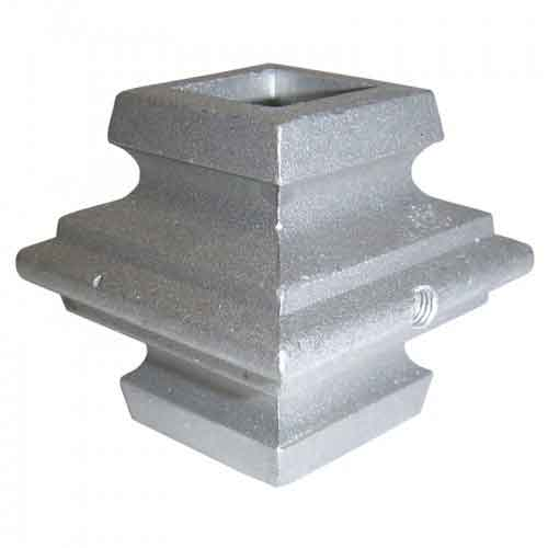 """Picket Collar for 3/4"""" sq., Aluminum, w/Stainless Steel Set Screw, 1-7/8"""" Tall"""
