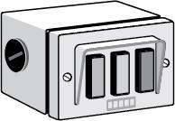 FAAC Three-Button Switch