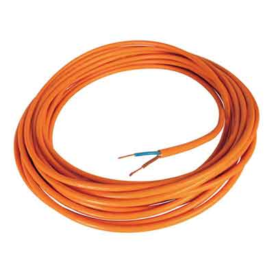 Flexible Electrical Wire, 2 x 21 ga, 16 ft long
