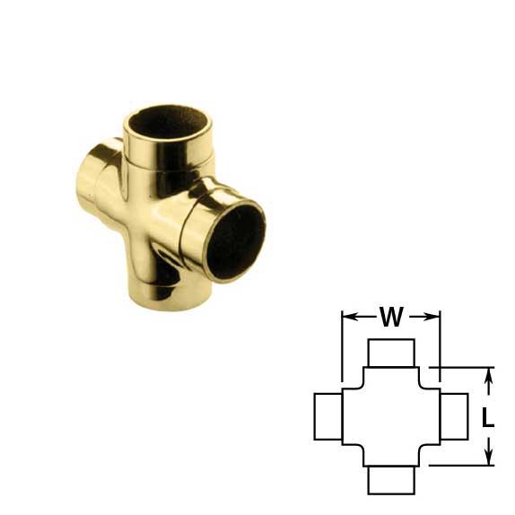Flush Crosses in Brass