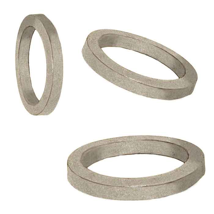"Rolled Aluminum Circles in 1/2"" x 1/2"" Material"