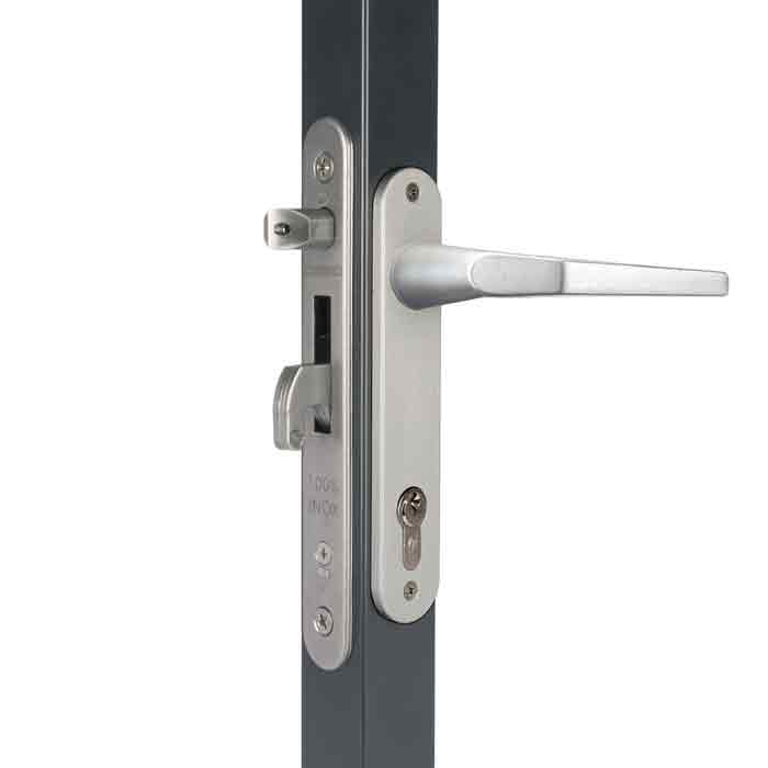"Fortylock Mortise Lock Kits for 2"" and 2-1/2"" Frames w/Aluminum Handles and Cover Plates"