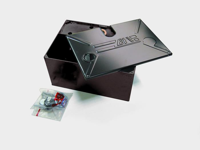 Foundation Box, Left Hand, for SUB UL Underground Gate Operator