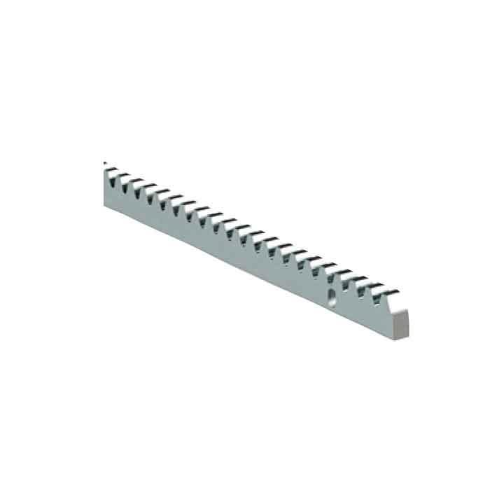 "Ranger Gear Rack, Galvanized Steel 1-1/4"" (30mm) x 1/2"" (12mm), 3'-3"" Long"