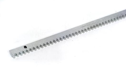 Gear Rack & Fittings for FAAC Model 844ER, Galvanized Steel, 4 lengths of 3.3FT