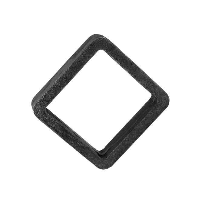"3/4"" x 5/16"" Steel Gate Diamond, 4"" Wide"