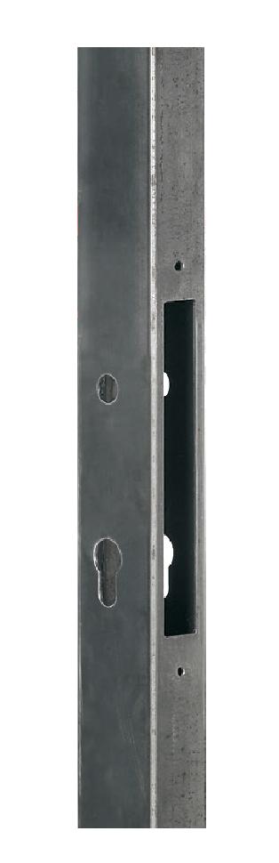 Gate Frame Profile For Mortise Lock (H-metal)