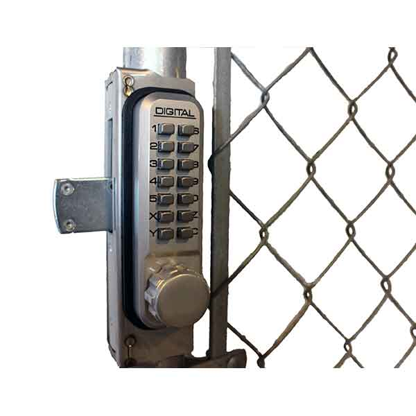 Chainlink Gate Box in Stainless Steel, use with Door Lock Models 2985, 2900 & 2950