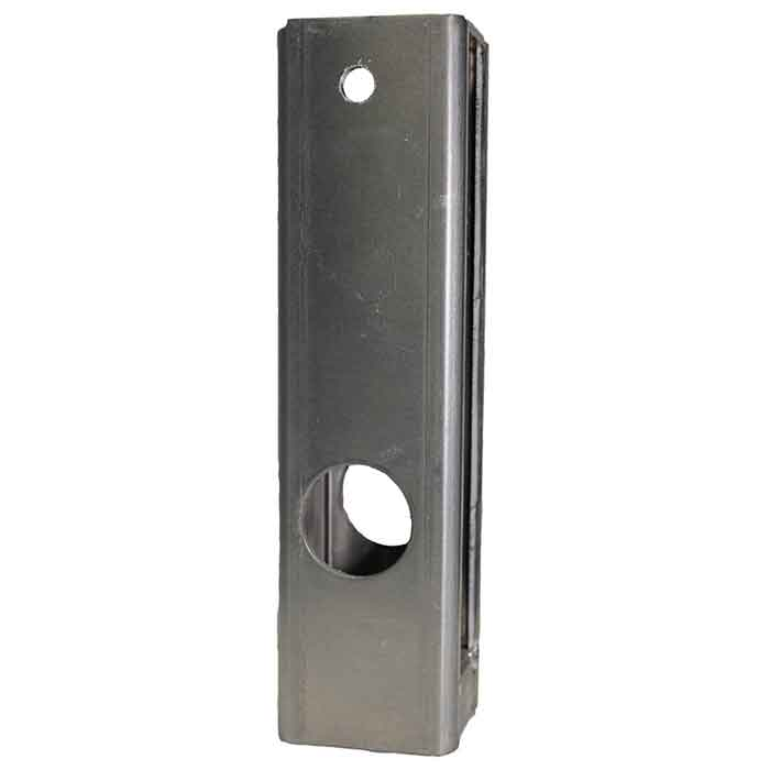 Aluminum Gate Box for use with item 2900 or 2950 Mortised Door Locks