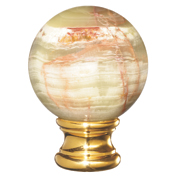 Grande Forge Onyx Green (Vert) Natural Ball Post Top